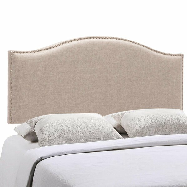 Baier Upholstered Panel Headboard by House of Hampton