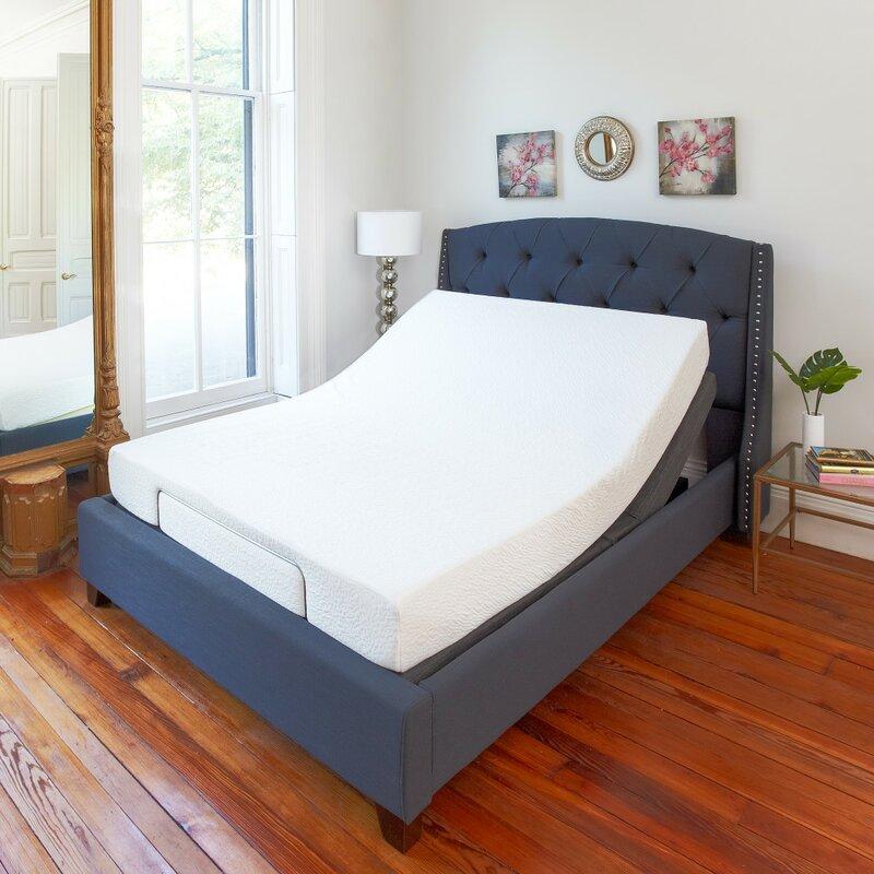 Adjustable Bed Base >> Classic Brands Comfort Adjustable Bed Base Reviews Wayfair