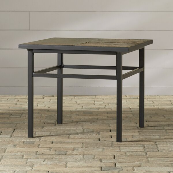 Mcdavid Stone/Concrete Side Table by Alcott Hill