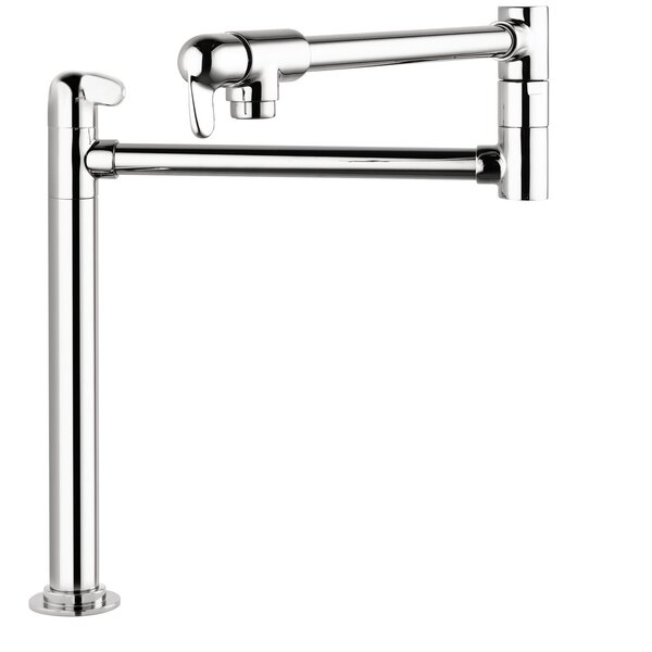 Allegro E Single Handle Deck Mounted Pot Filler by Hansgrohe