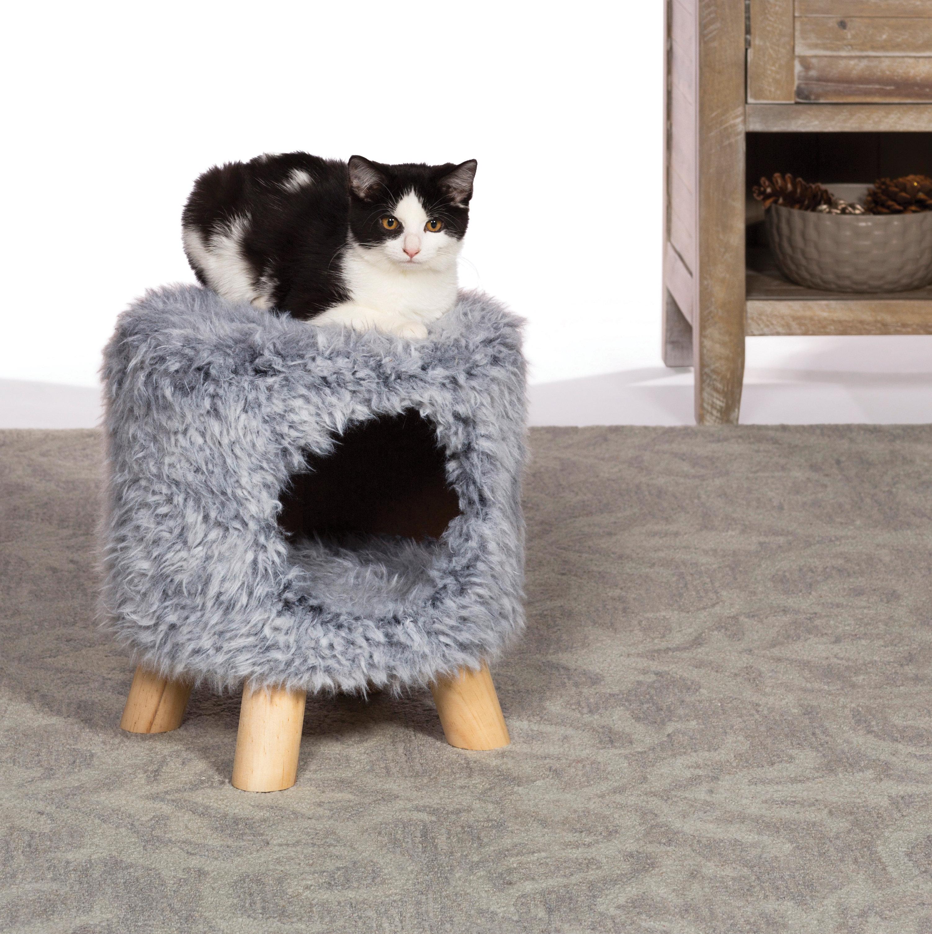 Basics Cat Condo Ottoman