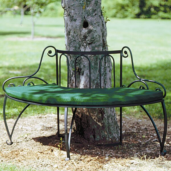 Alderson Wrought Iron Tree Bench by August Grove