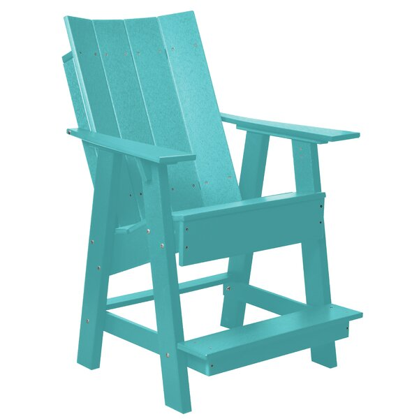 Jaoquim High Plastic Adirondack Chair by Red Barrel Studio Red Barrel Studio