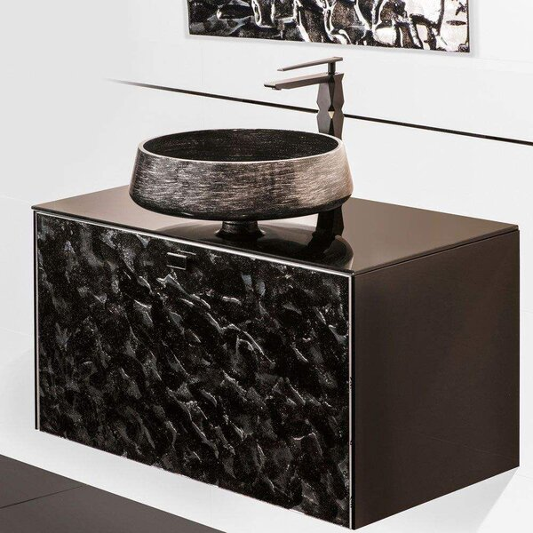 Aube Luxury Murano 32 Wall-Mounted Single Bathroom Vanity