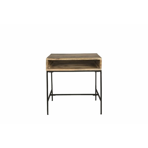 Beggs End Table With Storage By Foundry Select
