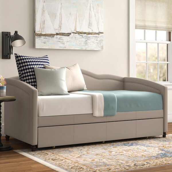 Gilberts Twin Solid Wood Daybed With Trundle By Three Posts