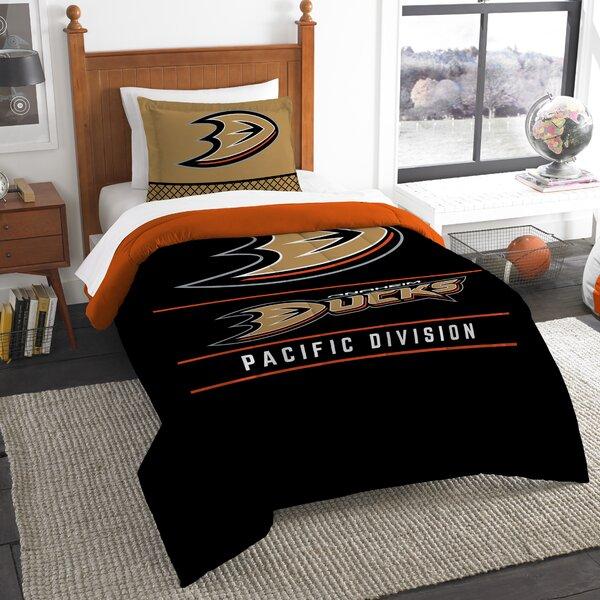 NHL Draft 2 Piece Twin Comforter Set by Northwest