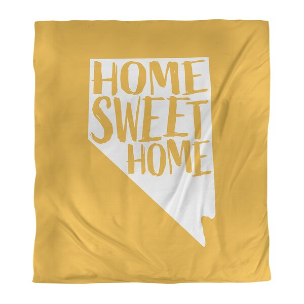 Home Sweet Nevada Duvet Cover