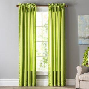 Green Curtains Drapes