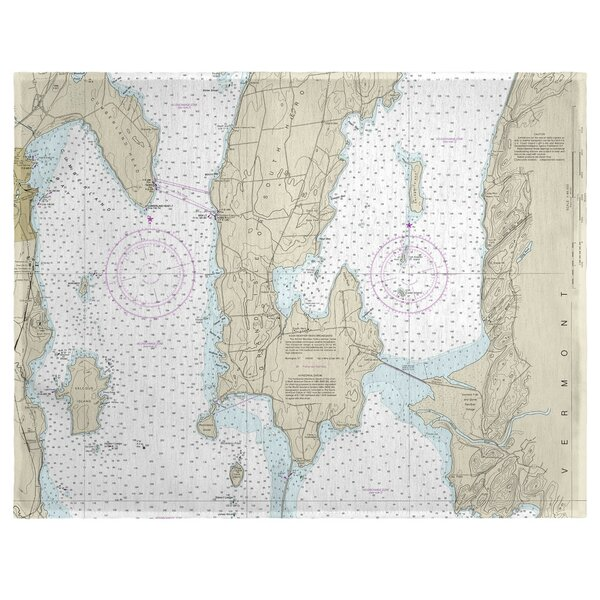 South Hero Island, VT 18 Placemat (Set of 4) by East Urban Home