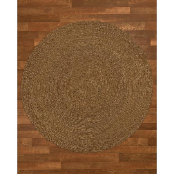 Wellesley Hand-Woven Brown Area Rug by Threadbind