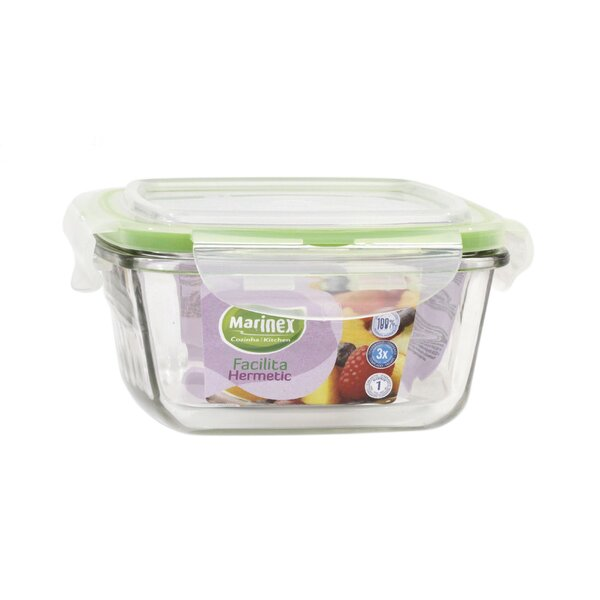 Facilita Square 17 Oz. Food Storage Container by Marinex