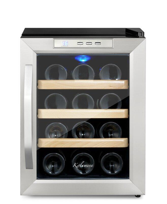 12-Bottle Single Zone Freestanding Wine Cooler