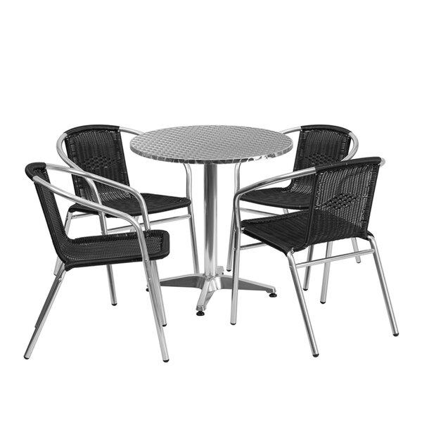 Laurelynn 3 Piece Dining Set by Ebern Designs