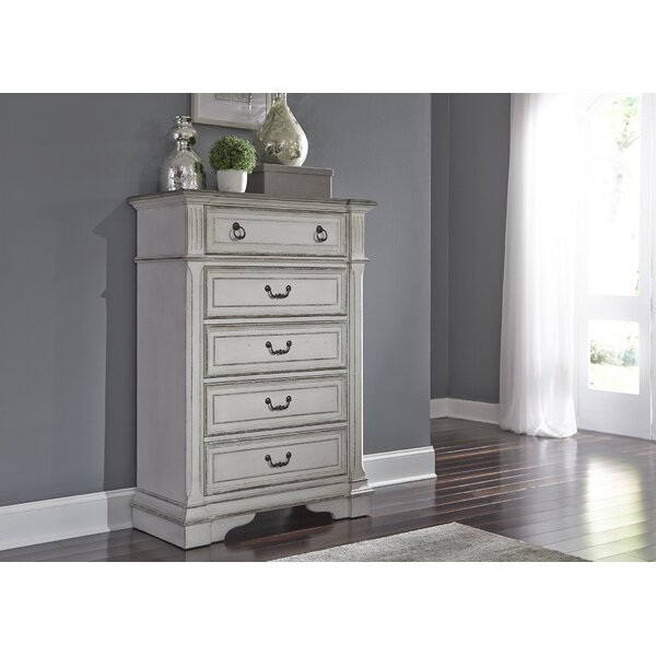 Ginyard 5 Drawer Chest by Ophelia & Co.