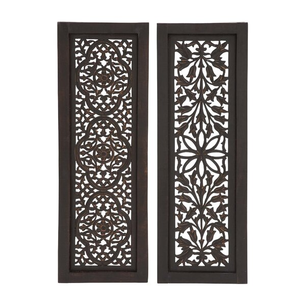 Beautiful Styled Wood Panel Wall Décor Set (Set of 2) by Charlton Home