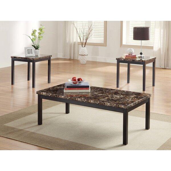Mcclaskey 3 Piece Coffee Table Set by Charlton Home Charlton Home®