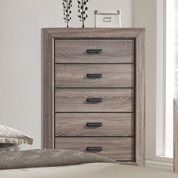 Westman 5 Drawer Chest by Gracie Oaks