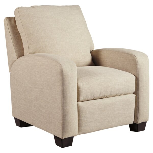 Solange Nuvella Manual Recliner by Highland Dunes