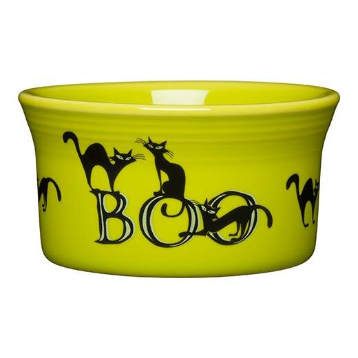 Trio of Boo Cats Ramekin by Fiesta