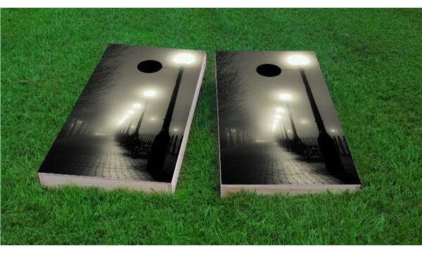 Romantic Walkway Cornhole Game (Set of 2) by Custom Cornhole Boards