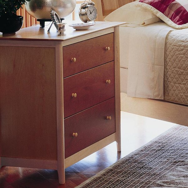 Sarah 3 Drawer Chest by Copeland Furniture