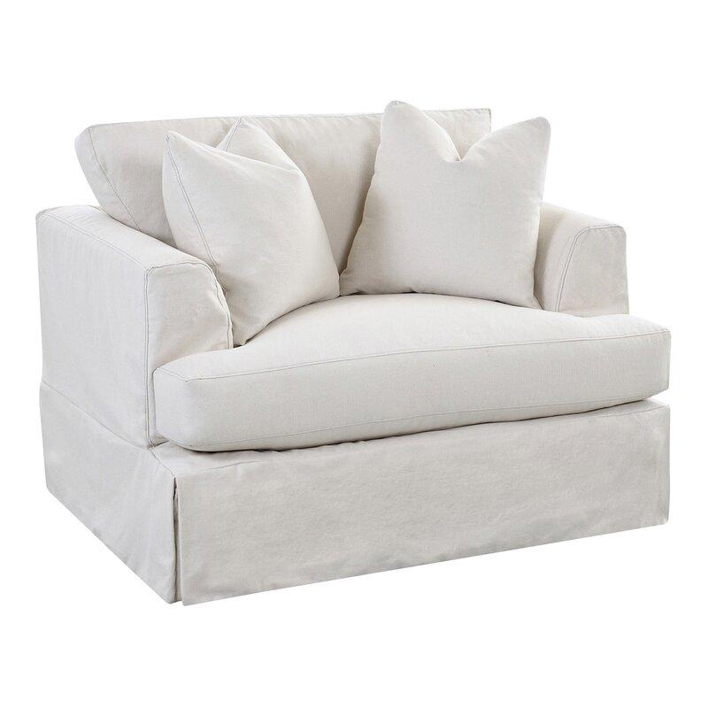 Wayfair Custom Upholstery Carly Chair And A Half