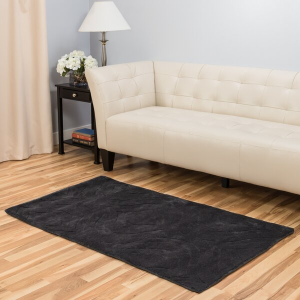 Hand-Tufted Charcoal Area Rug by Harbormill