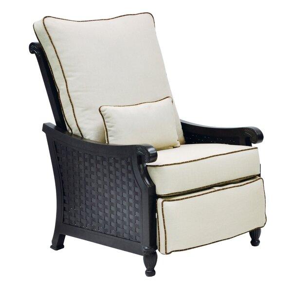 Jakarta 3 Position Recliner Patio Chair with Cushions by Leona