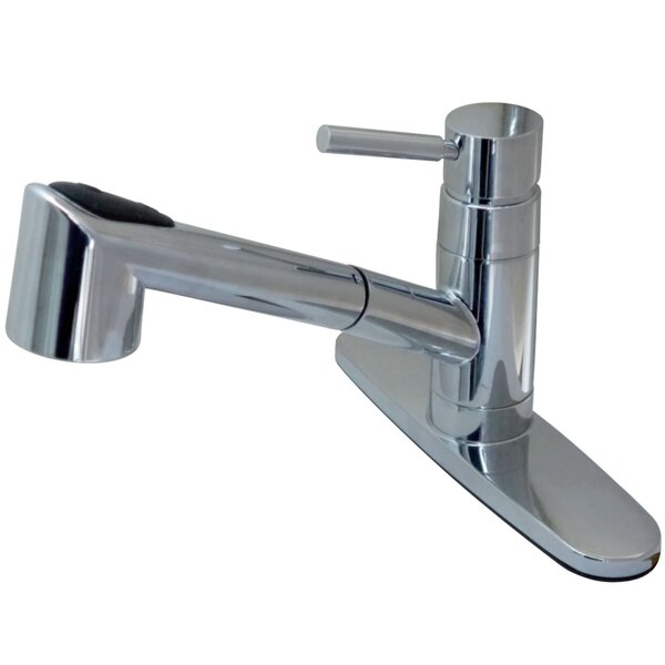 Wilshire Pull Out Single Handle Kitchen Faucet by Kingston Brass