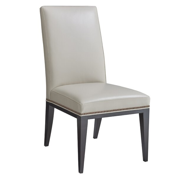 Lowell Leather Upholstered Dining Chair by Lexington Lexington