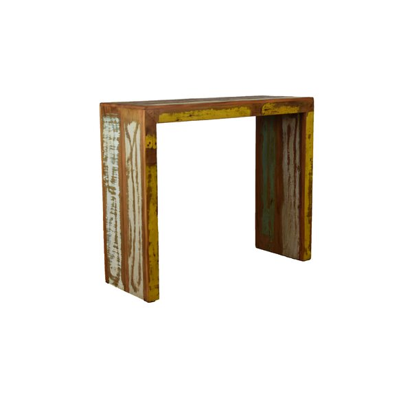 Review Giardina Solid Wood Console Table