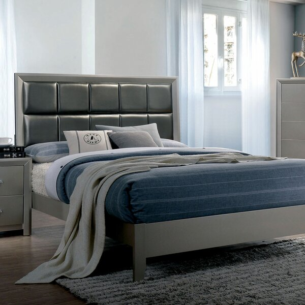 Aahil Upholstered Standard Bed by Wrought Studio