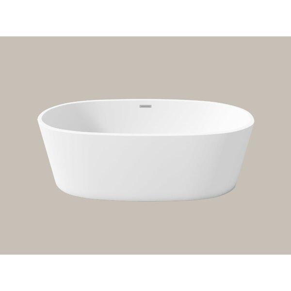 Firenze 67 x 32 Freestanding Soaking Bathtub by Perlato