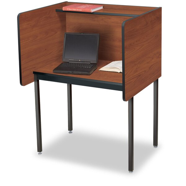 Laminate 49.5 Study Carrel by Smith Carrel