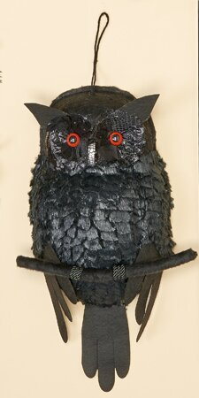 Owl with Lighted Eyes by Worth Imports