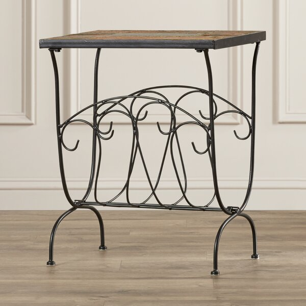 Mcdavid End Table by Alcott Hill