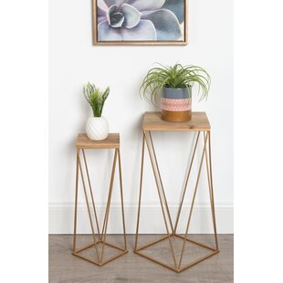 Searching for Lofland Metal Accent 2 Piece Nesting Tables By Mercury Row
