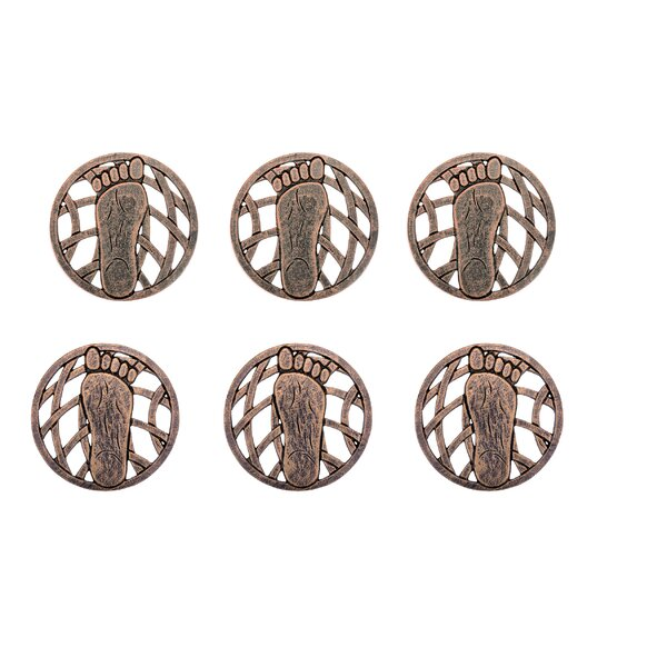 Set of 6 Foot Stepping Stones by Oakland Living