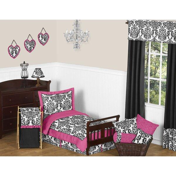 Isabella 5 Piece Toddler Bedding Set (Set of 5) by Sweet Jojo Designs