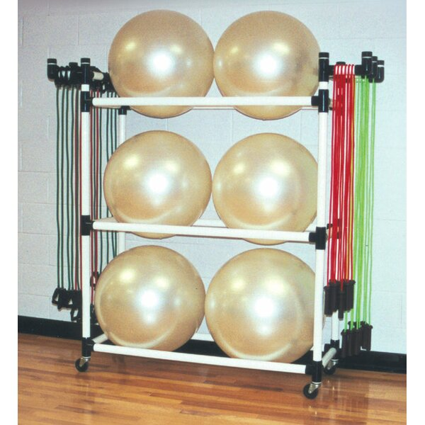 Big Ball Fitness Utility Cart by Duracart
