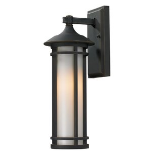 Shop For McKew 1-Light Outdoor Wall Lantern By Bloomsbury Market