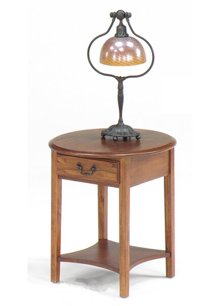 Revere End Table by Alcott Hill
