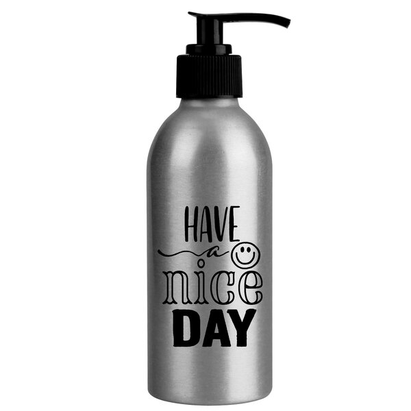 Oakley Have a Nice Day Aluminum Soap Dispenser by Winston Porter