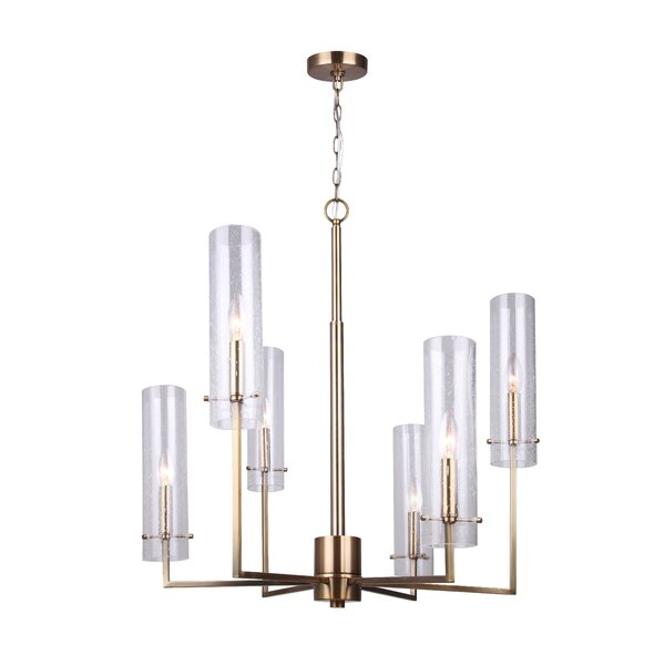 Chestertown 6 - Light Shaded Classic / Traditional Chandelier By Mercer41