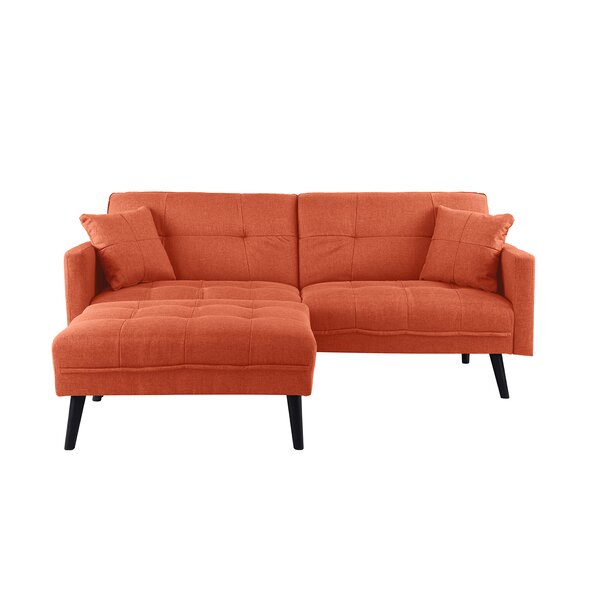 Roldan Sectional with Ottoman by Wrought Studio