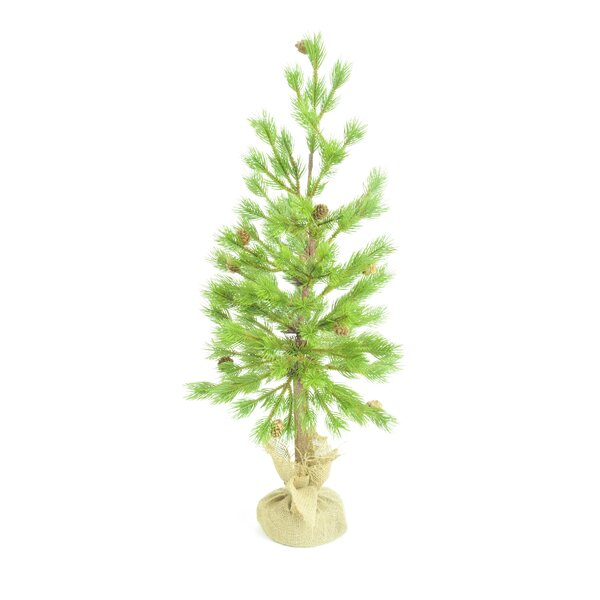 Green Floor Pine Tree by The Holiday Aisle