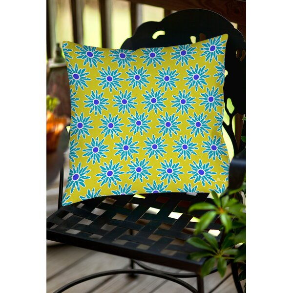 La Roque Summer Starburst N N N N Throw Pillow by Manual Woodworkers & Weavers