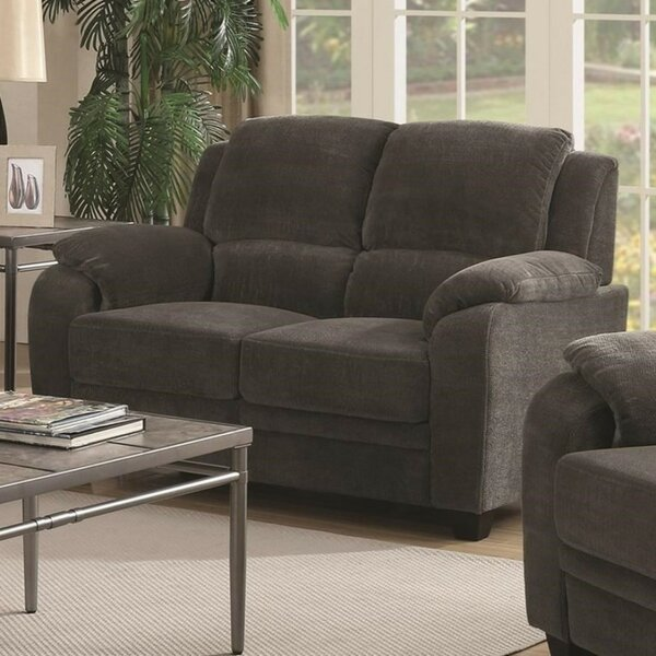 Best Reviews Of Moy Transitional Loveseat by Winston Porter by Winston Porter