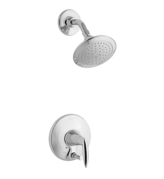 Alteo Shower Faucet with Push-Button Diverter (Val